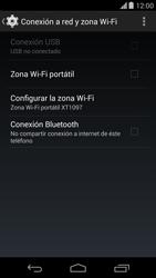 Configura el hotspot móvil - Motorola Moto X (2a Gen) - Passo 6