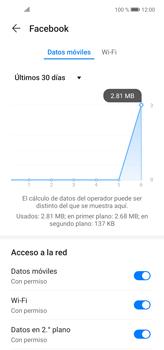 Verificar el uso de datos por apps - Huawei P40 Lite - Passo 5
