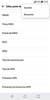 Configura el Internet - LG Q6 - Passo 15