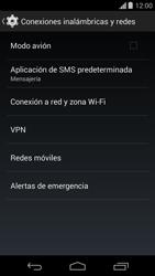 Configura el hotspot móvil - Motorola Moto G - Passo 5
