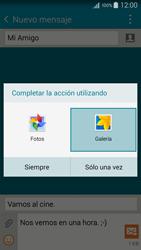 Envía fotos, videos y audio por mensaje de texto - Samsung Galaxy A5 - A500M - Passo 16