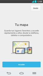 Uso de la navegación GPS - LG G2 - Passo 5
