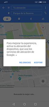 Uso de la navegación GPS - Huawei Mate 20 Lite - Passo 10