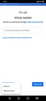 Crea una cuenta - LG G7 Fit - Passo 4