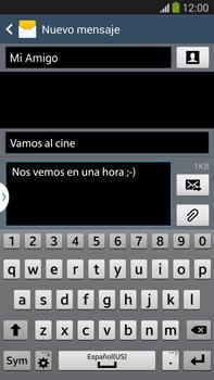 Envía fotos, videos y audio por mensaje de texto - Samsung Galaxy Note Neo III - N7505 - Passo 12