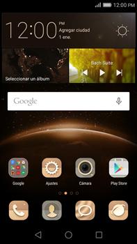 Cómo insertar la SIM card - Huawei G8 Rio - Passo 1