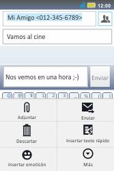 Envía fotos, videos y audio por mensaje de texto - Motorola MotoSmart Me  XT303 - Passo 12