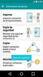 ¿Tu equipo puede copiar contactos a la SIM card? - LG K4 - Passo 11