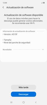 Actualiza el software del equipo - Samsung Galaxy A51 - Passo 8