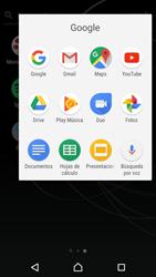 Uso de la navegación GPS - Sony Xperia XZ Premium - Passo 4