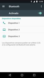 Conecta con otro dispositivo Bluetooth - Motorola Moto G5 - Passo 6