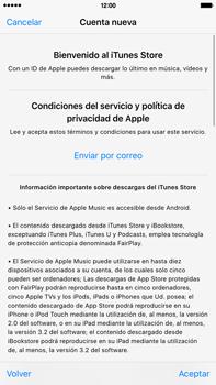 Crea una cuenta - Apple iPhone 6 Plus - Passo 9