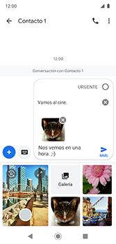 Envía fotos, videos y audio por mensaje de texto - Motorola Moto G7 Plus - Passo 18