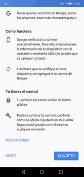 Crea una cuenta - Huawei P20 Lite - Passo 11