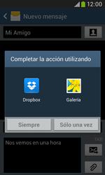 Envía fotos, videos y audio por mensaje de texto - Samsung Galaxy Trend Plus S7580 - Passo 14