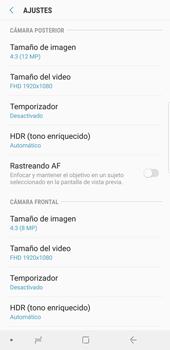 Opciones de la cámara - Samsung Galaxy S9 Plus - Passo 10