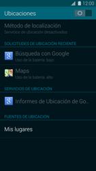 Uso de la navegación GPS - Samsung Galaxy S5 - G900F - Passo 17