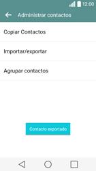 ¿Tu equipo puede copiar contactos a la SIM card? - LG C50 - Passo 11