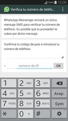 Configuración de Whatsapp - Samsung Galaxy Alpha - G850 - Passo 5
