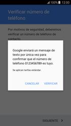 Crea una cuenta - Samsung Galaxy J5 - J500F - Passo 8