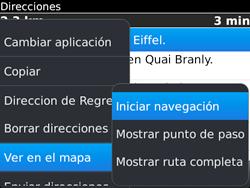 Uso de la navegación GPS - BlackBerry Bold 9720 - Passo 18