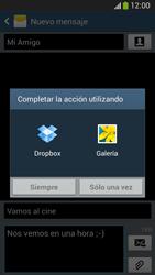 Envía fotos, videos y audio por mensaje de texto - Samsung Galaxy Zoom S4 - C105 - Passo 14