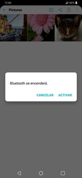 Transferir fotos vía Bluetooth - LG G7 ThinQ - Passo 10