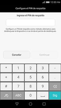 Desbloqueo del equipo por medio del patrón - Huawei G8 Rio - Passo 10