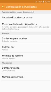 ¿Tu equipo puede copiar contactos a la SIM card? - Samsung Galaxy Note 5 - N920 - Passo 6