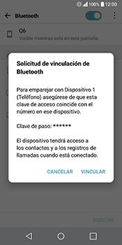 Conecta con otro dispositivo Bluetooth - LG Q6 - Passo 7