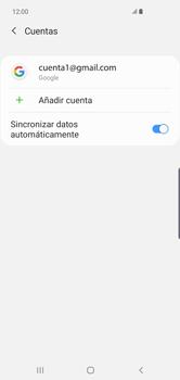 Desactivar la sincronización automática - Samsung S10+ - Passo 6