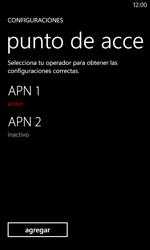 Configura el Internet - Nokia Lumia 620 - Passo 19