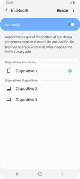 Conecta con otro dispositivo Bluetooth - Samsung Galaxy A80 - Passo 9