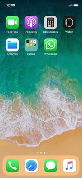 Configuración de Whatsapp - Apple iPhone X - Passo 3