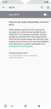 Configura el WiFi - Motorola Moto G8 Play (Single SIM) - Passo 6