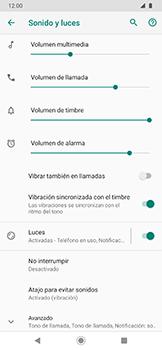 Cómo activar el modo de vibración o silencio - Motorola One Zoom - Passo 4