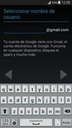 Crea una cuenta - Samsung Galaxy A3 - A300M - Passo 7