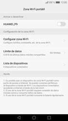 Configura el hotspot móvil - Huawei P9 - Passo 7