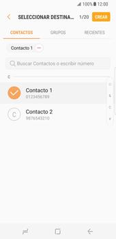 Envía fotos, videos y audio por mensaje de texto - Samsung Galaxy S8 - Passo 6