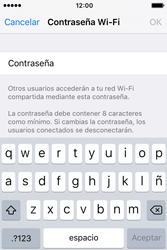 Configura el hotspot móvil - Apple iPhone 4s - Passo 6