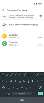 Envía fotos, videos y audio por mensaje de texto - Motorola One Vision (Single SIM) - Passo 4