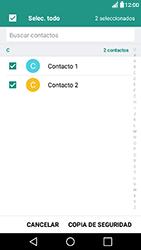 ¿Tu equipo puede copiar contactos a la SIM card? - LG X Power - Passo 11
