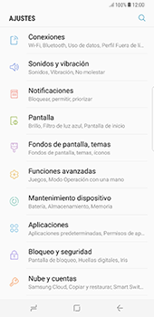 Desactiva tu conexión de datos - Samsung Galaxy S8+ - Passo 3