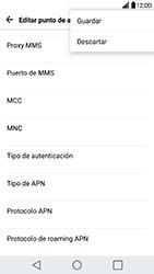 Configura el Internet - LG G5 - Passo 15