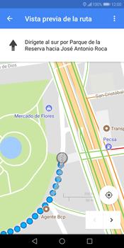 Uso de la navegación GPS - Huawei Y7 (2018) - Passo 16