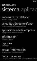 Restaura la configuración de fábrica - Nokia Lumia 925 - Passo 4