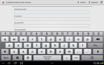 Configura tu correo electrónico - Samsung Galaxy Note 10-1 - N8000 - Passo 9