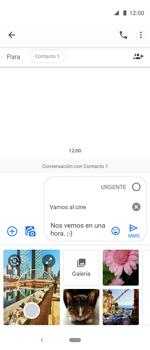 Envía fotos, videos y audio por mensaje de texto - Motorola One Vision (Single SIM) - Passo 11