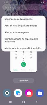 Cómo ver dos aplicaciones a la vez en pantalla - Samsung Galaxy S20 - Passo 5