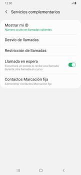 Configuración del identificador de llamadas - Samsung Galaxy A30 - Passo 10